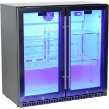 Schmick Black Iridium Stainless Steel Fridge - A Real Special Look With Black Stainless Steel