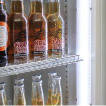 Schmick 2 Glass Door Commercial Bar Fridge - Led Lightng