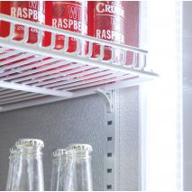 Schmick 2 Glass Door Commercial Bar Fridge - Strong Commercial Shelving (Comes with 8)