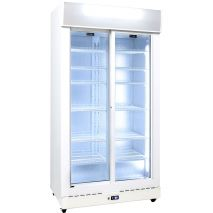 Schmick 2 Glass Door Commercial Bar Fridge Illumination Is Great