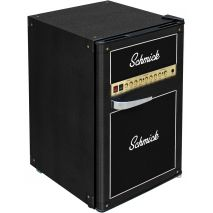 Amp design Retro Black Bar Fridge BC70B-AMP - Add Your Own Text And Make A Great Personalized Gift!
