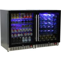 Schmick Beer And Wine Matching Indoor Quiet Running Fridge Combination Model SK151G-Combo