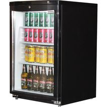 Dellware J85 Mini Glass Door Fridge