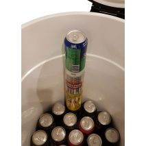 4 x high cans, great for events, camping, sporting clubs and promotion