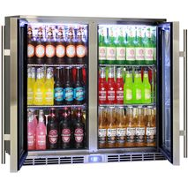 Self Closing Doors, Strong HD Shelving Hold Weight Of All Glass Bottles