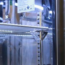 Rhino Envy 1 Door Bar Fridge - Polishes 304 Stainless Steel Interior Gives Mirror Effect