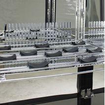 Patented Wine Shelving Saddle System