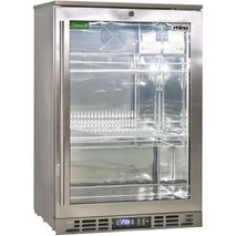 Rhino 1 Door Heated Glass Door Bar Fridge - Build Into Cabinet No Problems Units Are Front Venting