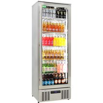 Rhino Glass Door Fridge Full With Plenty Of Storage Options