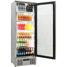 Rhino Glass Door Bar Fridge Has Self Closing Doors