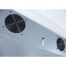 Commercial 2 Door Bar Fridge Inner Fans