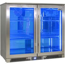 Rhino Envy 2 Door Bar Fridge - World First Variable Speed Compressor (Inverter) Saves $$$, Lowest Energy Consumption In The World