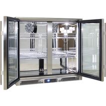 Rhino Envy 2 Door Bar Fridge - Self Closing Doors, Units Have Heated Glass Option (Switchable) For Area's With High Humidity To Stop Water/Condensation On The Glass
