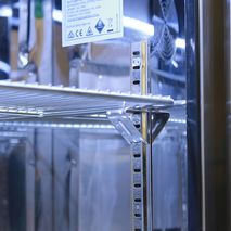 Stainless Shelf Clips And Fully Adjustable Racking
