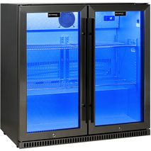Schmick Alfresco Heated Glass Door Bar Fridge SK190-BS