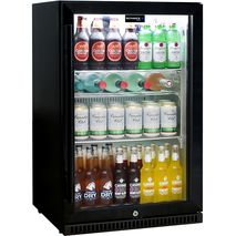 Schmick Alfresco Glass Door Bar Fridge - White Led Lights