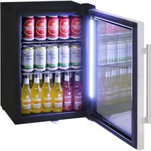 Schmick Shallow Depth Mini Fridge HUS-SC35-SS