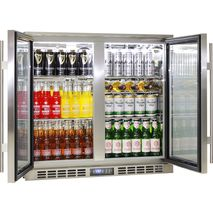 Heated Doors 2 Door Alfresco Fridge Rhino Plenty Of Shelf Options