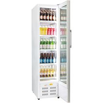Rhino Skinny Upright Commercial Bar Fridge - 5 x Adjustable Shelves