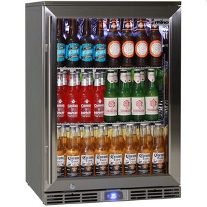 Rhino 1 Door Alfresco Outdoor Bar Fridge Model GSP1H-SS