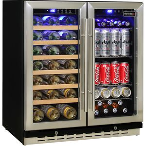 Schmick Dual Zone Under Bench Indoor/Alfresco Beer And Wine Fridge