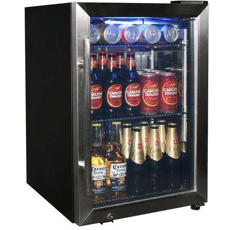 Dellware Tropical Triple Glazed Glass Door Drinks Beer Chiller Refrigerator Model DW-SC66