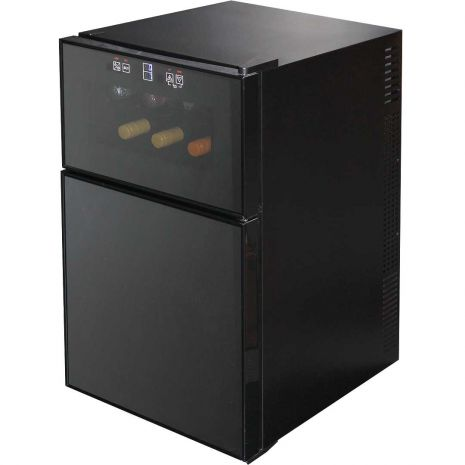 Mini Beer And Wine Fridge Model BCWH69 full