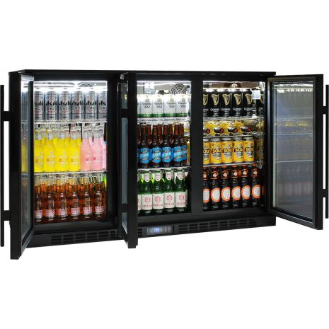 Rhino 3 Door GSP Commercial Bar Fridge - Extremely Energy Efficient