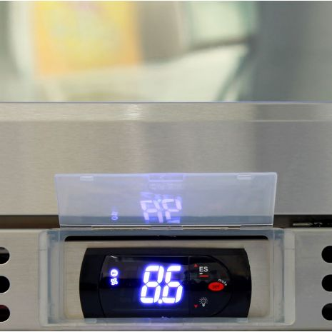Rhino Fridges Use Italian ECO Electronic Energy Saving Controllers, ECO Mode saves 30% More While You Are away