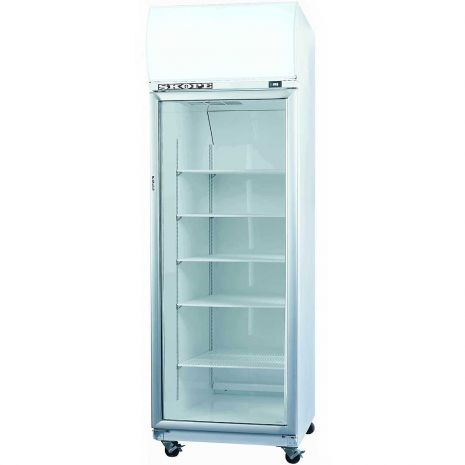Skope Commercial Glass Door Bar Fridge 650Litre Model TME650 front