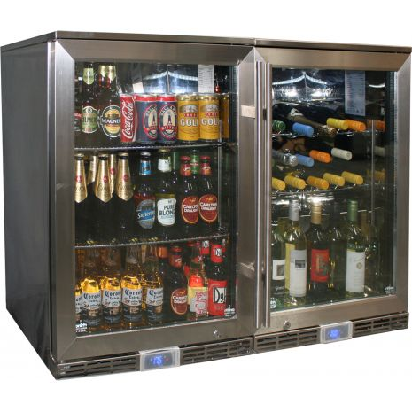 Alfresco Outdoor Beer And Wine Fridge Combination