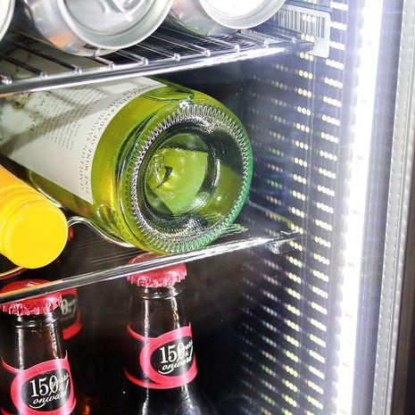 Alfresco Glass Door Triple Glazed Bar Fridge Led