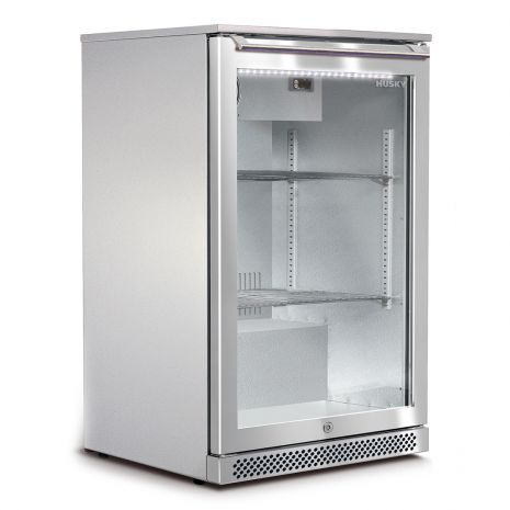 Husky 1 Door Alfresco Bar Fridge With Glass Door
