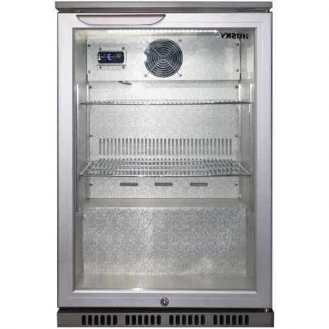 Husky Commercial Silver C1 Bar Fridge