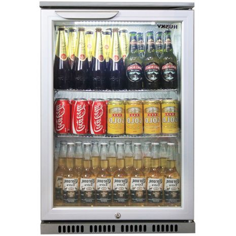 Husky Commercial Silver C1 Bar Fridge Plenty Of Room