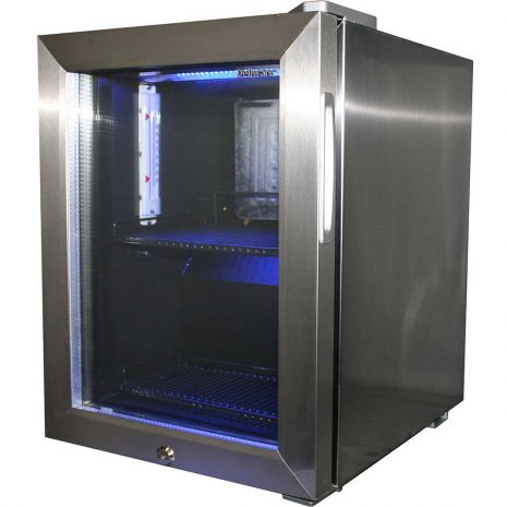 small bedroom fridges mini glass door bar fridge all stainless steel with lock 13232