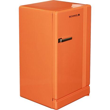 Retro Orange Bar Refrigerator Nostalgic Look With Col