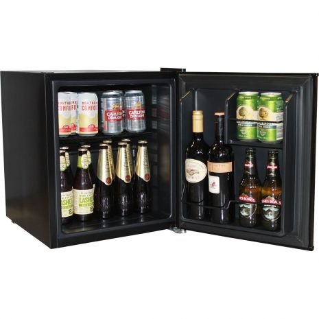 Black Mini Bar Fridge BC46