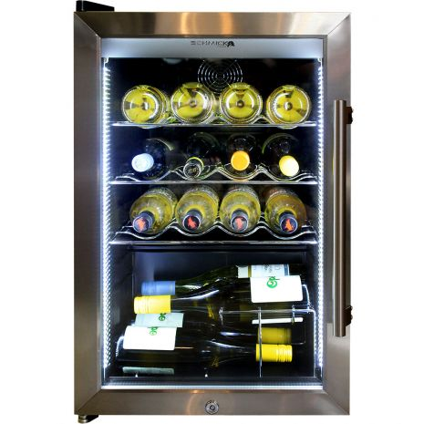 Outdoor Alfresco Bar Fridge Triple Glazed Glass Wavy Wine Shelf Available