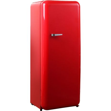 Red Retro Refrigerator Tall