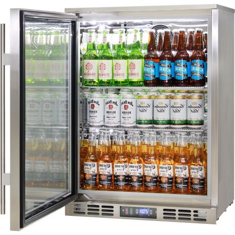 Rhino 1 Door Triple Glass Door Bar Fridge - Brand Name Parts For Longevity, Great Warranty