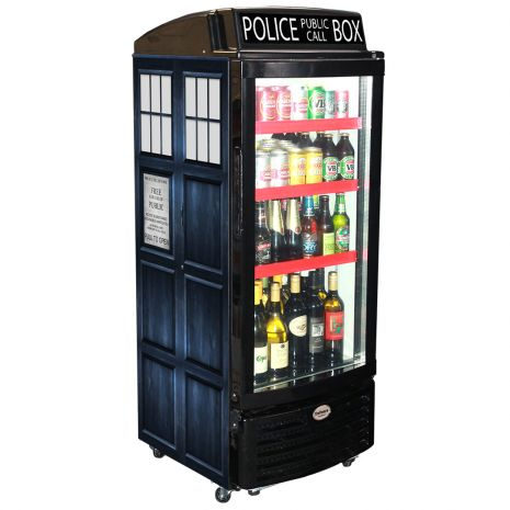 Dr Who Tartus Glass Door Bar Fridge Dellware