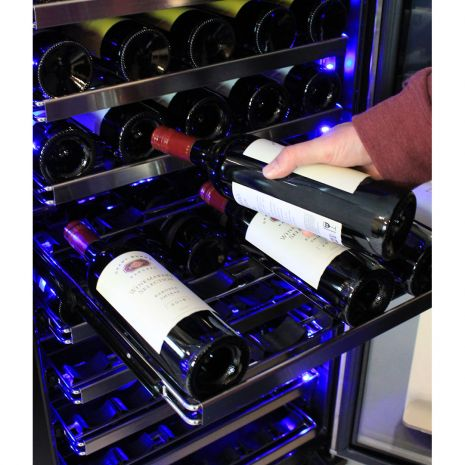 Schmick Dual Zone Upright Wine Refrigerator