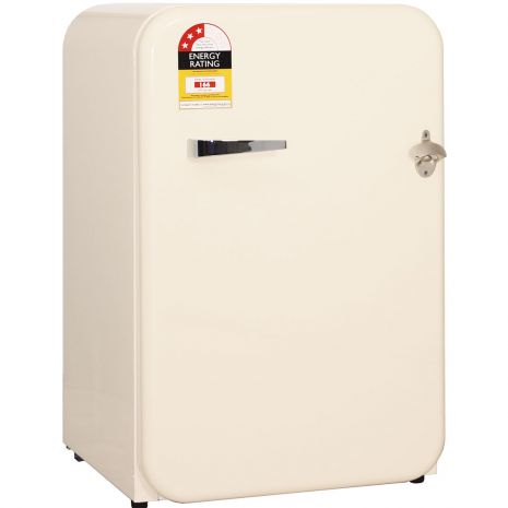 Schmick Ivory Retro 110Litre Bar Fridge