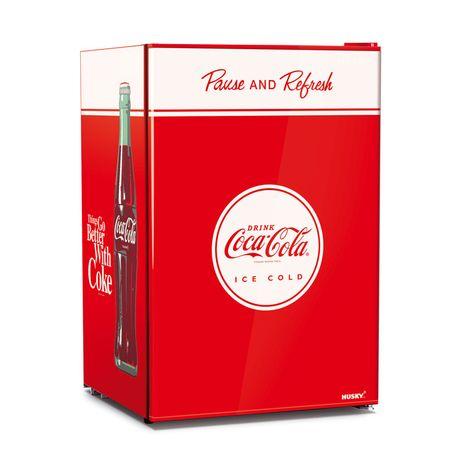 Coca Cola 118 Litre Retro Mini Bar Fridge Unique Vintage