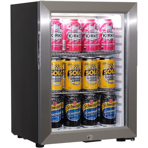 Schmick Quiet Motel Room Mini Fridge Model SK40-SS
