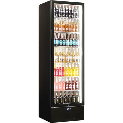 Schmick Upright Glass Door Bar Fridge SK422-B