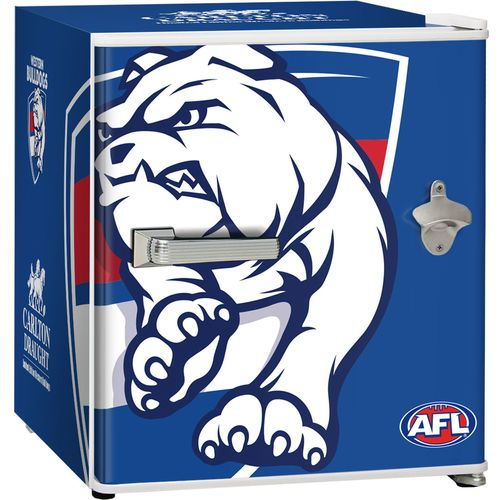 Western Bulldogs Carlton Draught Beer Fridge