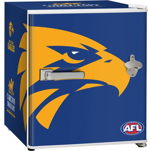 West Coast Eagles Carlton Draught Beer Fridge