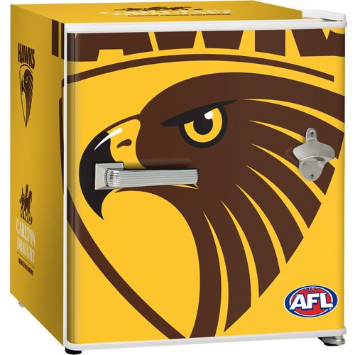 Hawthorn Hawks Carlton Draught Beer Fridge